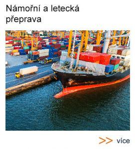 Námořní a letecká přeprava