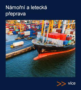 Námořní, letecká, železniční a kombinovaná přeprava